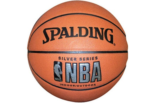 Мяч баскетбольный Spalding NBA Silver Series Indoor/Outdoor №7