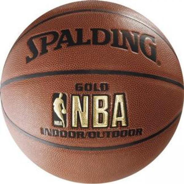 Мяч баскетбольный Spalding NBA Gold Series Indoor/Outdoor №7